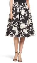 Eliza J Women's Floral Print Midi Skirt