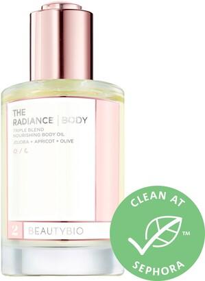 BeautyBio The Radiance Nourishing Body Oil with Jojoba + Apricot + Olive Oil