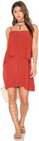 Splendid Sleeveless Overlay Mini Dress