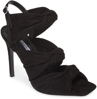 Charles David Vinnie Knotted Slingback Stiletto Sandal
