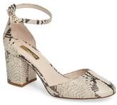 Louise et Cie Women's 'Idina' Ankle Strap Pump