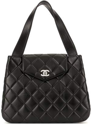 Chanel Pre-Owned quilted CC tote