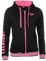Everlast Womens Zip Hoody Hoodie Hooded Top Full Tie Fastening