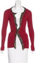 Jean Paul Gaultier Ruffle-Trimmed Wrap Sweater