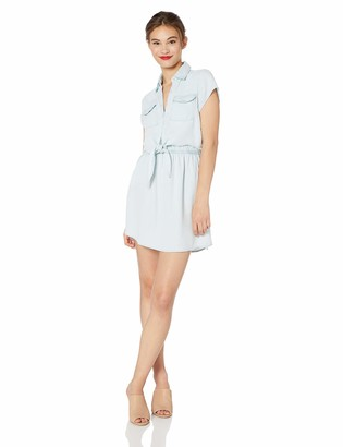 Jack by BB Dakota Women's Chambray You Stay Lightweight Dress
