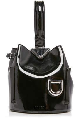 Danse Lente Josh Patent Leather Top Handle Bag