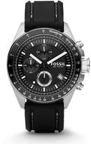 Fossil Men's silicon Strap Analog Dial Chronograph Watch CH2573