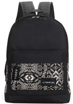 Tibes Fashion Canvas Backpack Unisex School Backpack