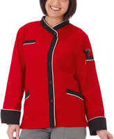White Swan 5 Star Chef Apparel Apparel Womens Long Sleeve Chef Coat