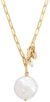 Maria Black Alessandria pearl pendant necklace