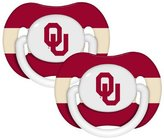 Baby Fanatic Oklahoma Sooners Pacifier - 2 Pack