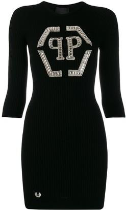 Philipp Plein knit day dress
