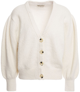 Nicholas Brushed Cotton-blend Cardigan
