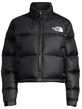 The North Face Women's 1996 Nuptse Cropped Puffer Jacket