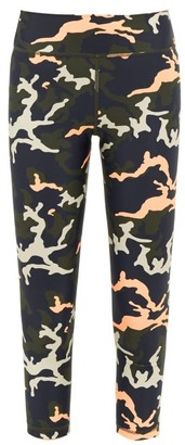 The Upside Camo 54 Stretch-jersey Leggings - Camouflage