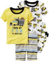 Carter's Boys 4-pc. Short Sleeve Pant Pajama Set-Toddler