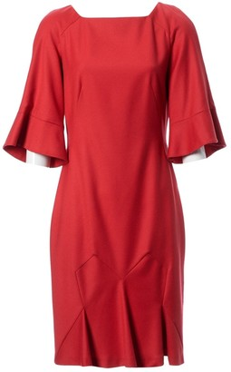 John Galliano Pink Wool Dress for Women