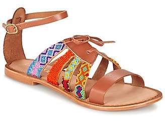 Lollipops ZODIAC FLAT SANDAL women's Sandals in Brown