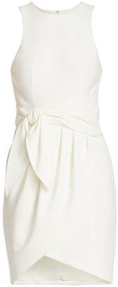 Cinq à Sept Cassaleigh Tie-Waist Sleeveless Dress