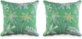Miles Talbott Collection S/2 Goa 19.5x19.5 Pillows, Green/Multi