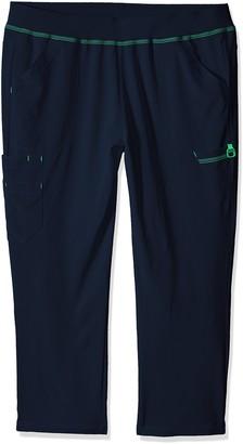 Carhartt Women's Plus Cross-Flex Size Straight Leg Knit Waist Cargo Scrub Pant