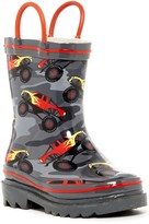 Western Chief Blazing Trucks Rain Boot (Toddler & Little Kid)
