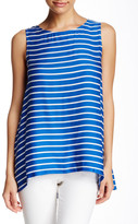 Cupcakes And Cashmere Onassis Stripe Tank