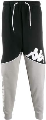 Kappa logo print track trousers