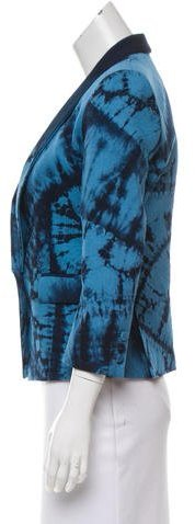 Boy By Band Of Outsiders Fitted Tie-Dye Jacket