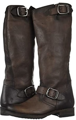 Frye Veronica Slouch 2 (Stone Washed Oiled Vintage) Women's Pull-on Boots