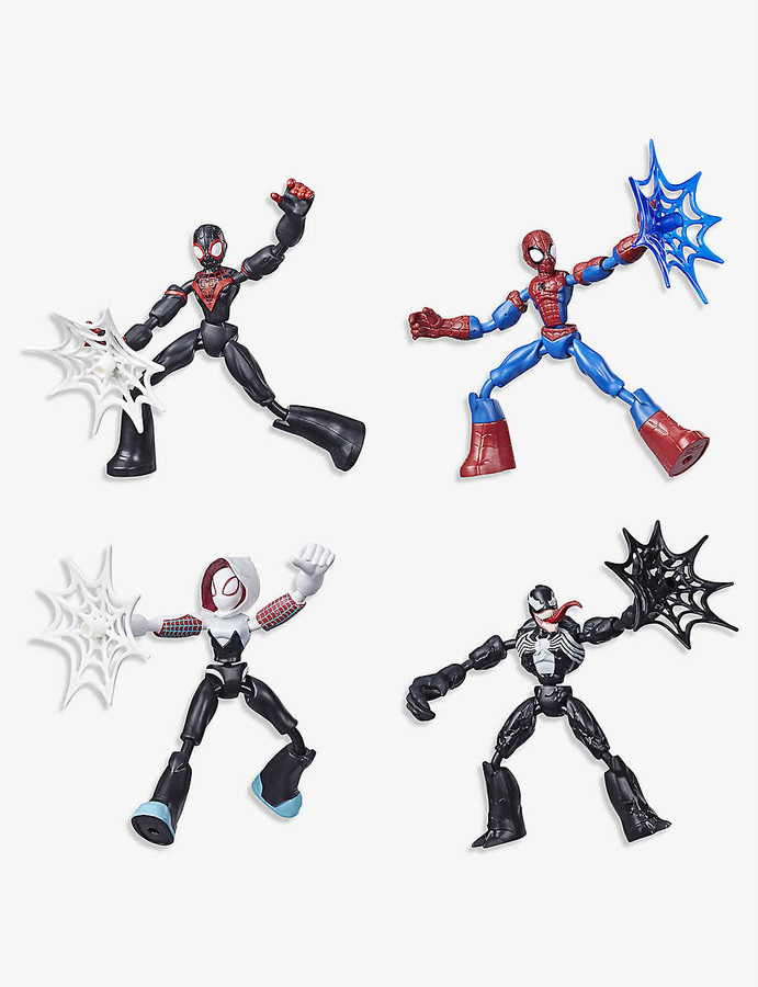 Bendable Action Figure E7688 Marvel Spider-Man Bend and Flex Ghost-Spider