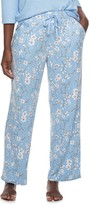 Croft & Barrow Women's Whisperluxe Sleep Pants