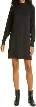 Rag & Bone The Knit Racer Long Sleeve Turtleneck Dress