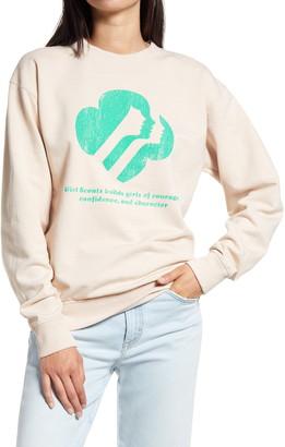 Desert Dreamer Girl Scouts Graphic Sweatshirt