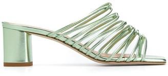 AEYDĒ Pearl 65mm slip-on sandals