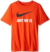 Nike JDI Swoosh Tee (Little Kids/Big Kids)