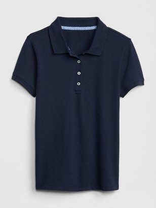 Gap Kids Uniform Stretch Short Sleeve Polo Shirt Shirt