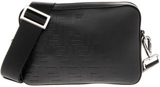 Fendi Ff Relief Leather Camera Bag
