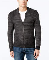 INC International Concepts Men's Variable Striped Sweater, Created for Macy's