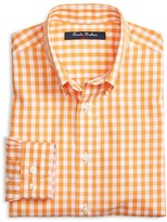 Brooks Brothers Boys' Non Iron Gingham Shirt - Sizes XS-XL