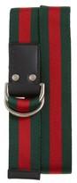 Gucci Men's Web Slider Belt