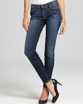7 For All Mankind Jeans - The Skinny Jeans in Nouveau New York Dark Wash