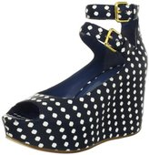 Marc by Marc Jacobs Women's Concealed High Wedge Sandal