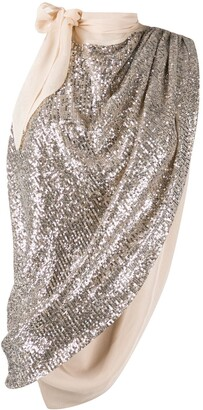 Magda Butrym Embellished Sleeveless Top