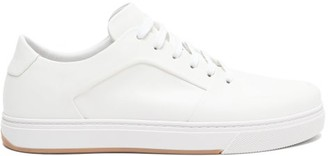 Bottega Veneta Seamless Leather Trainers - White