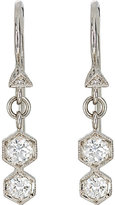 Cathy Waterman Women's Double-Hexagon Drop Earrings