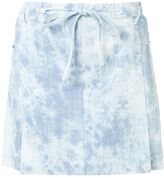Thakoon denim mini skirt