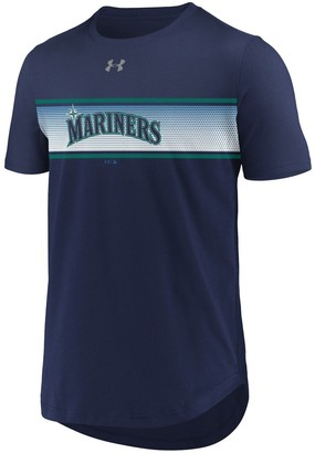 Under Armour Men's Navy Seattle Mariners Seam To Seam Core Performance T-Shirt