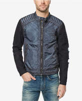 Buffalo David Bitton Men's Two-Tone Deconstructed Bomber Jacket