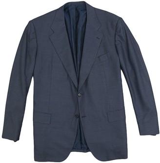 Kiton Navy Wool Suits